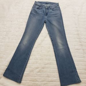 7 for all mankind karah bootcut jeans size 26